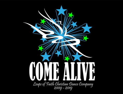 Come Alive Art Work